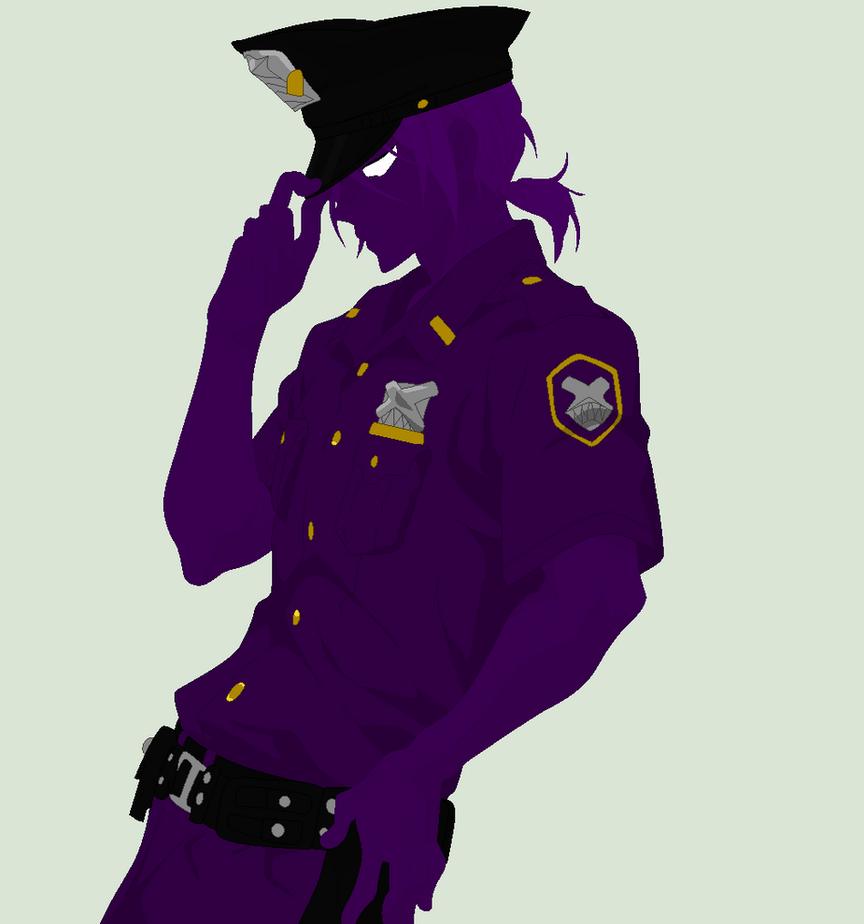 Vincent Purple Guy By Animefan71 On Deviantart