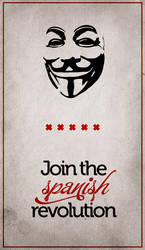 Join the spanish revolution by Morillas