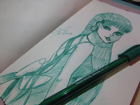 Pen Challenge 2- Ink Drips