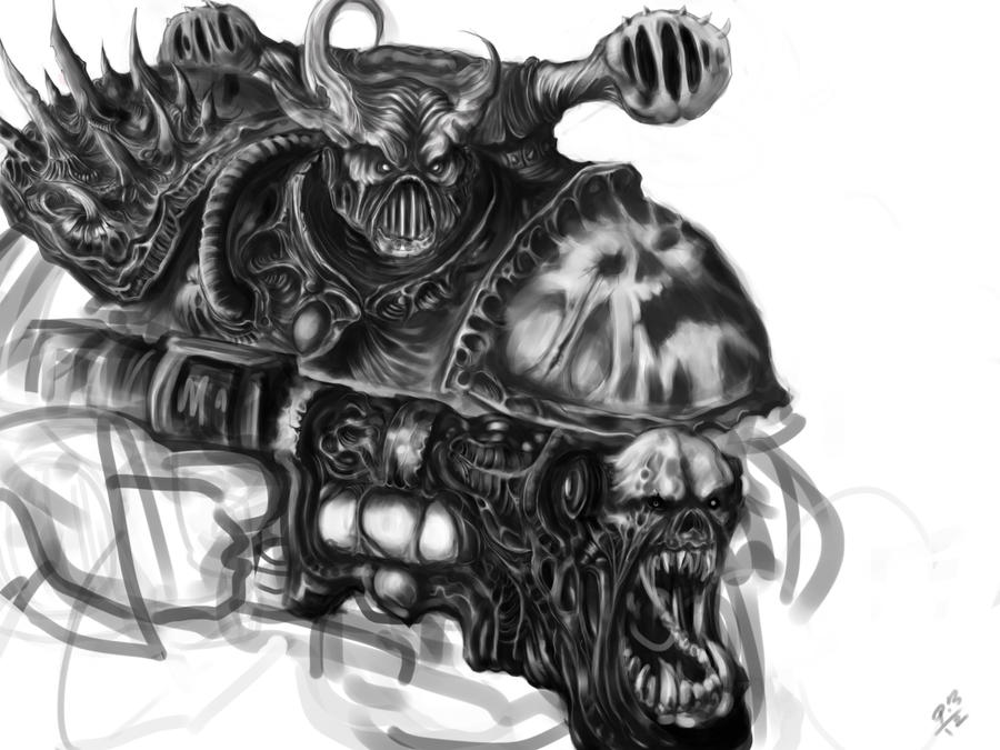 Noise Marine Wip 2 by TriggerN1 on DeviantArt