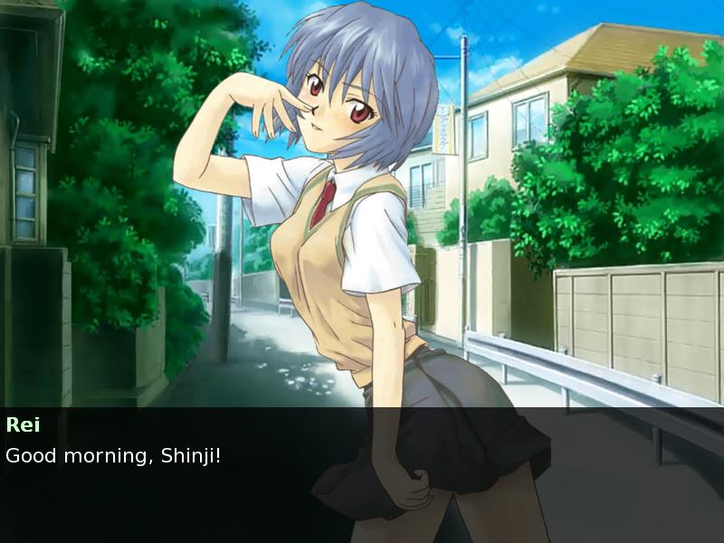 evangelion dating sim