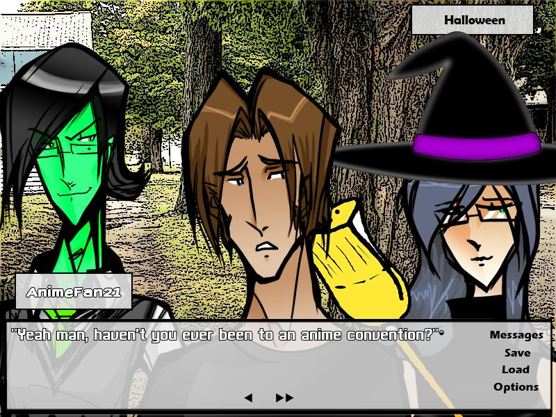 A Very Thanatos Contract Halloween! by Zetachi