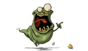 Slimer and His Peep