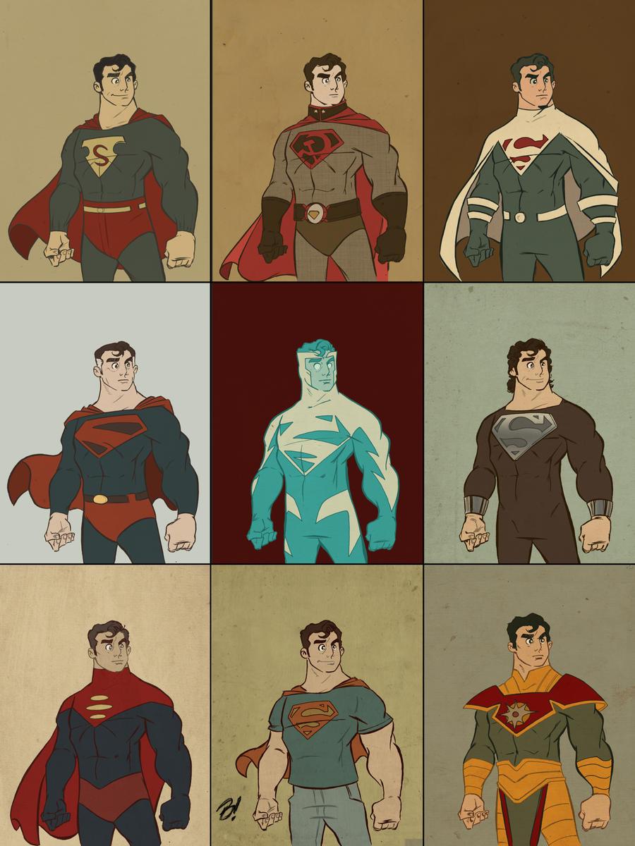 Superman: Man of Fashion by DaveBardin