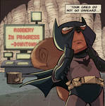 Bat-squirrel sneak peek