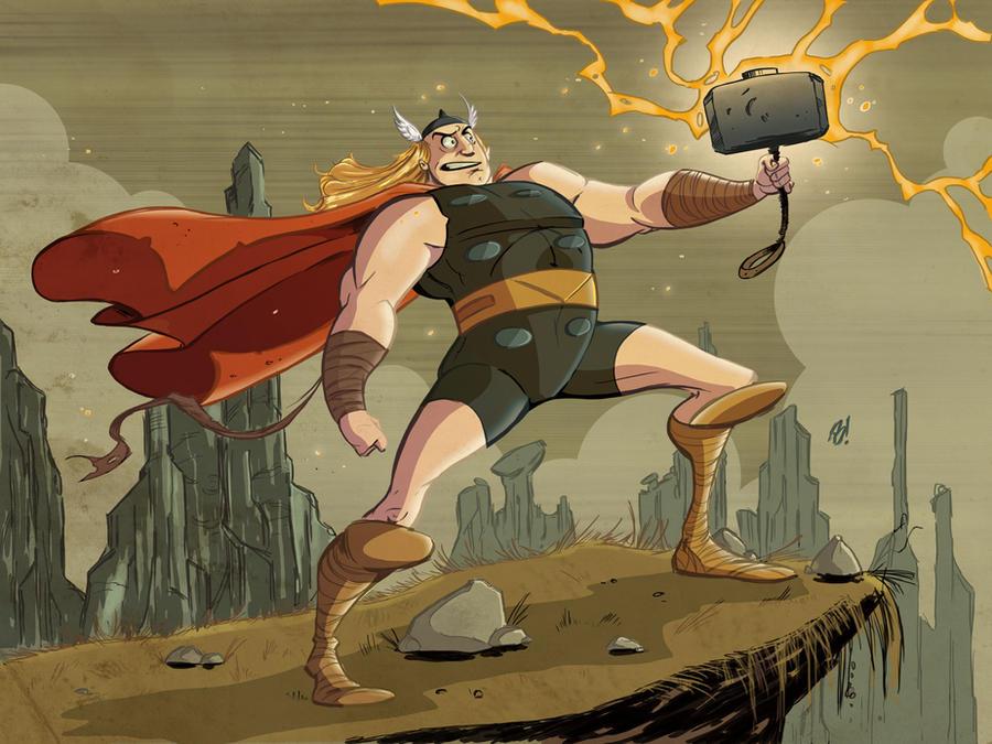 Thor by DaveBardin