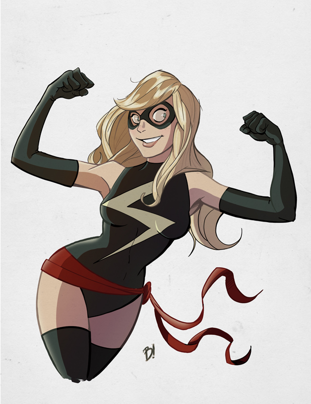 Ms. Marvel, I Presume. by DaveBardin