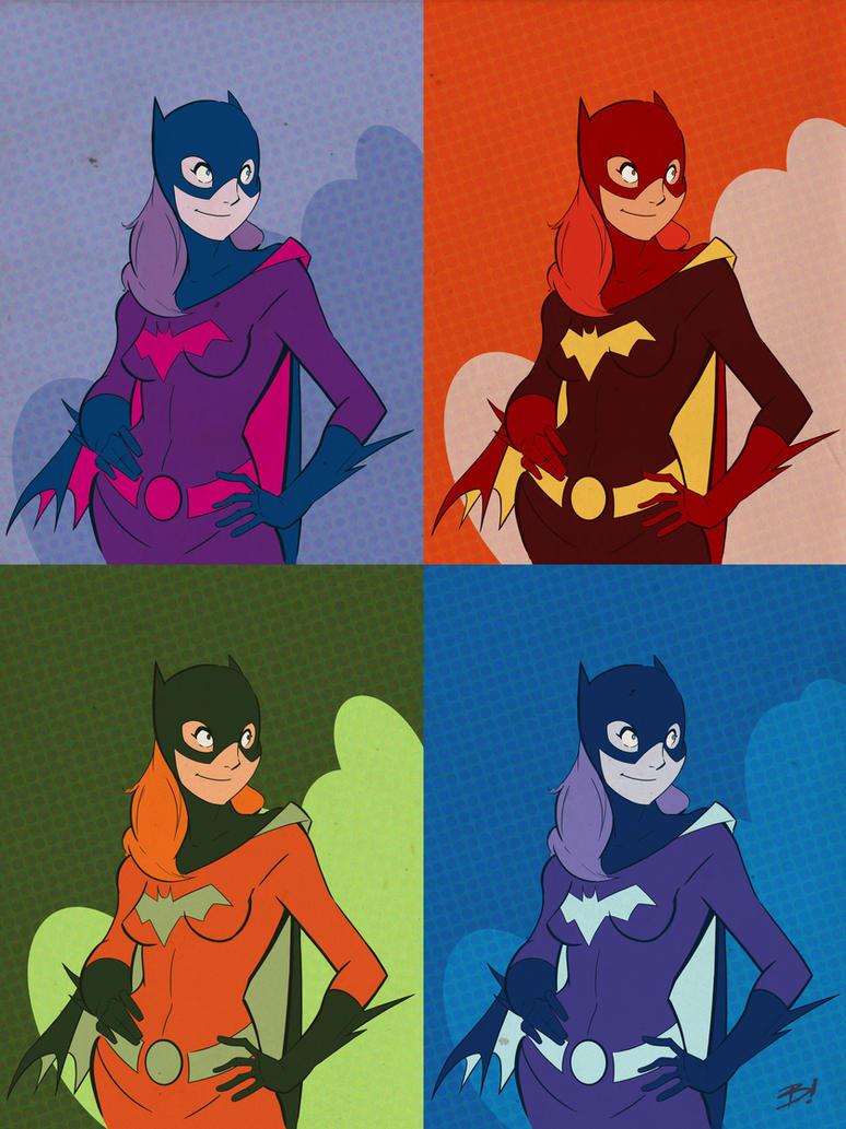 Batgirl in Technicolor by DaveBardin