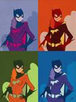 Batgirl in Technicolor