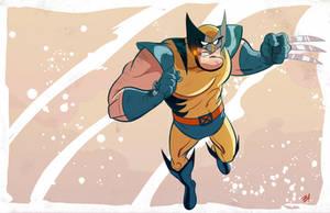 Wolverine by DaveBardin