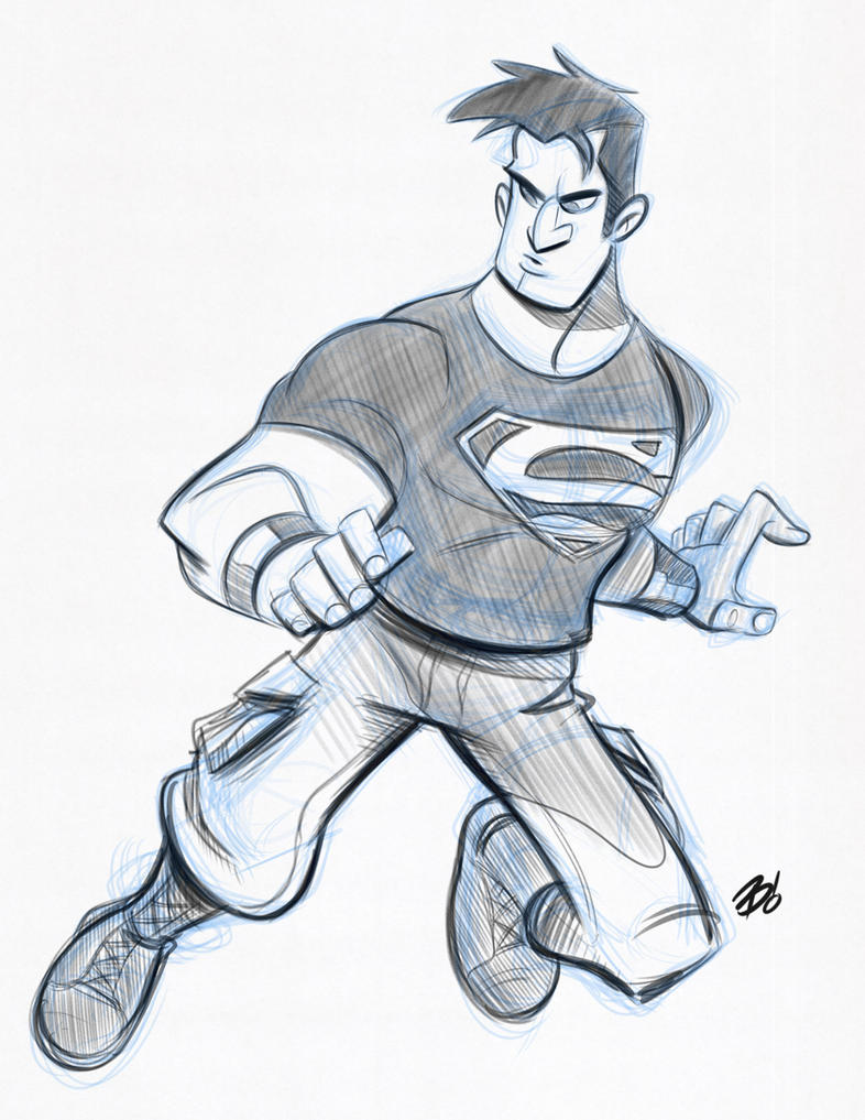 Superboy by DaveBardin