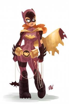 Battle Worn Batgirl