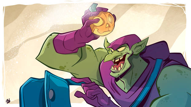 Green Goblin Time-Lapse