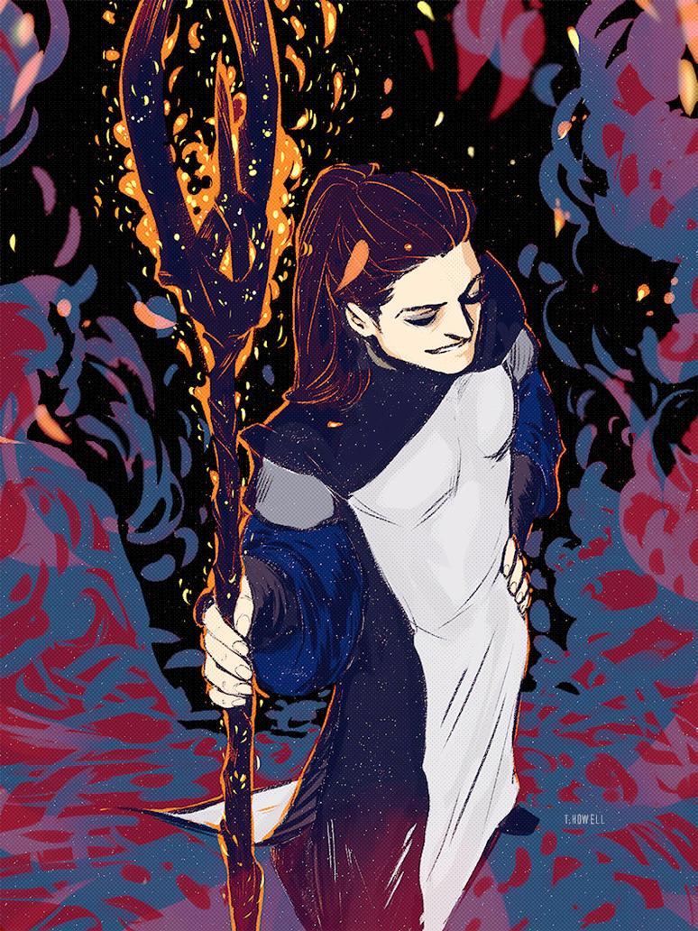 Make A Fire by Daniel-de-Chaos