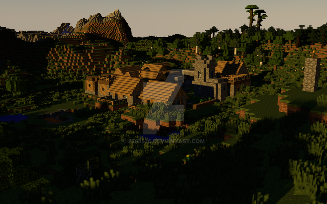 minecraft mpc village