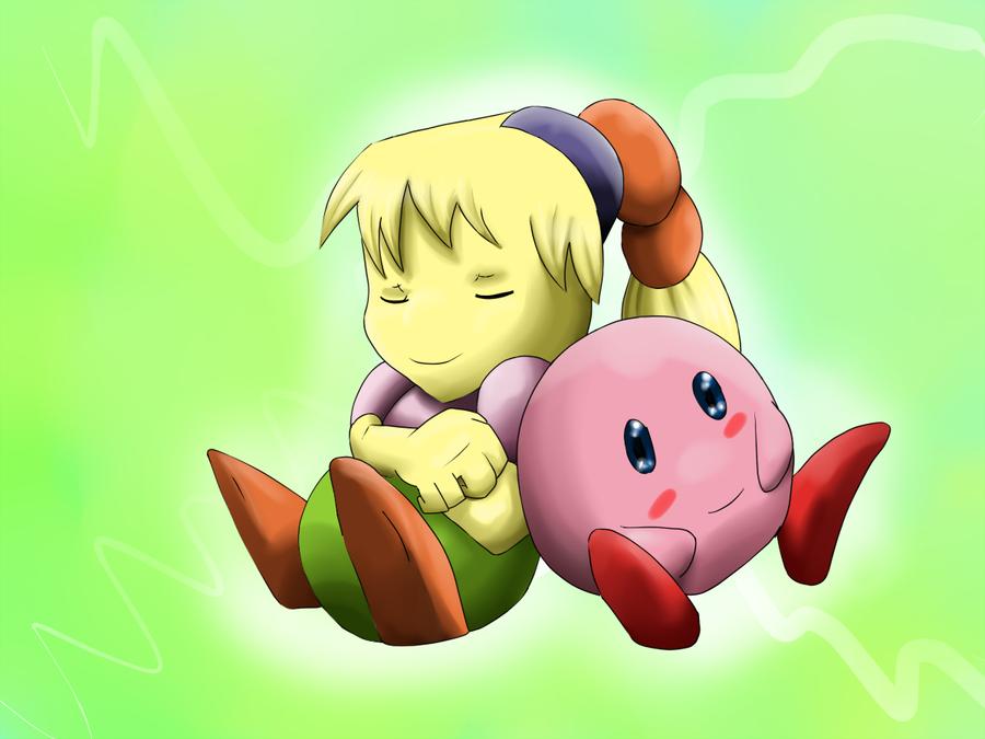 Kirby x tiff by riadorana on deviantart kirby x tiff by riadorana voltagebd Image collections