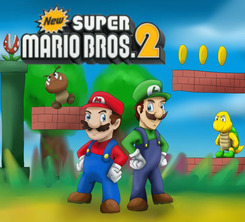 New Super Mario Bros 2 Fan Poster By Riadorana On DeviantArt