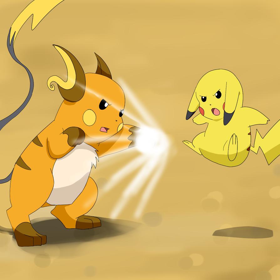 Pikachu and raichu dancing - photo#23