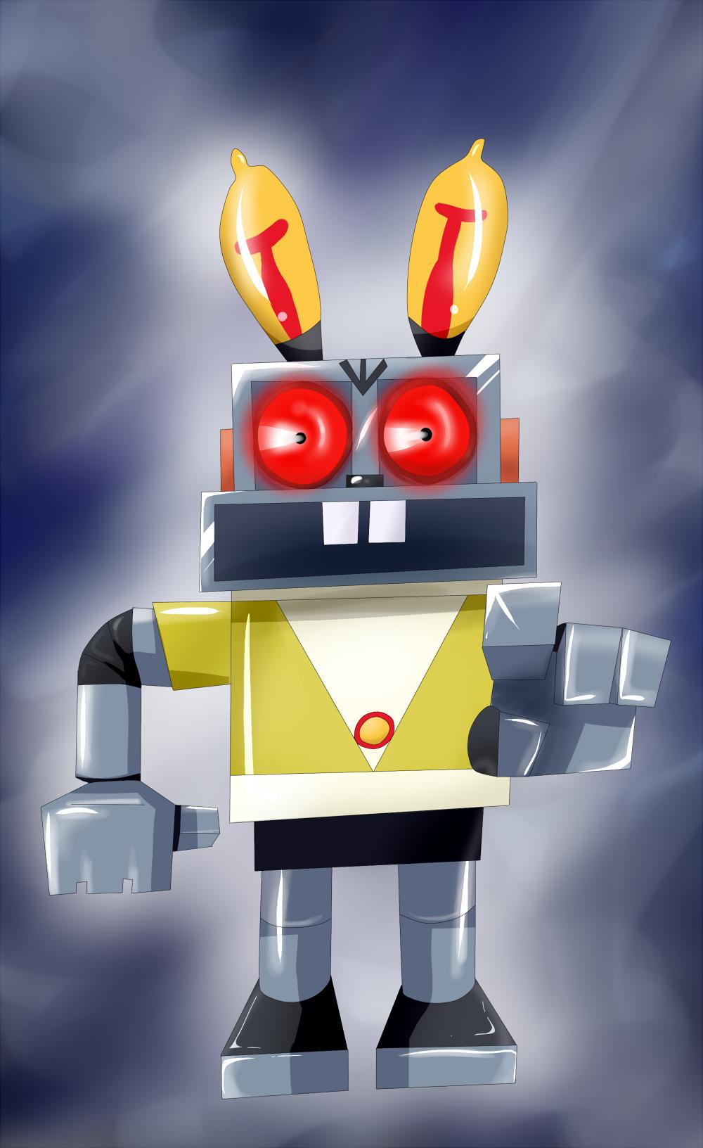 Robot Hare by Riadorana on DeviantArt