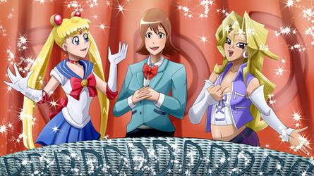 SailorMoonSora and Mai singing B my D