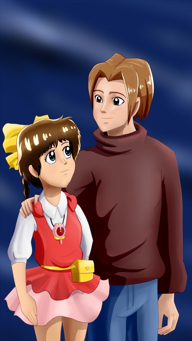 Shawn and Pastel Yumi by Riadorana