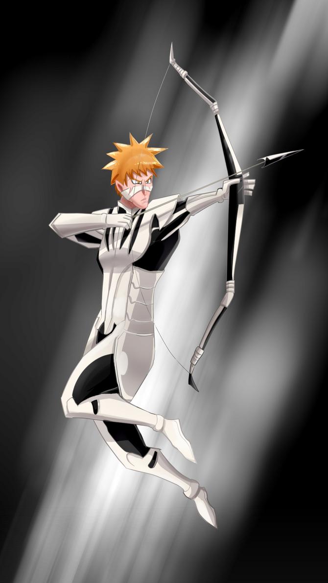 Ichigo with bow by Riadorana