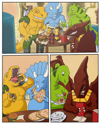 Extreme Dinosaurs weight gain-pg1