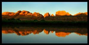 reflection over the colorado