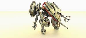 MT-3 AU16 Wolf-Walker Render