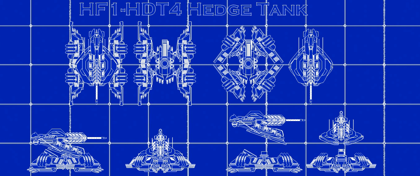 Blue Print-Hedge Tank by MrJumpManV4 on DeviantArt