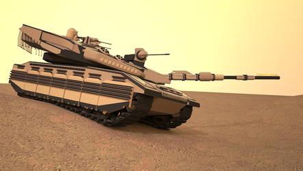 Advanced Merkava MBT