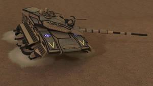 Merkava Hover Tank