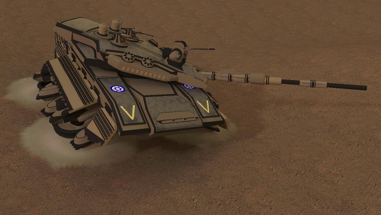 Merkava Hover Tank by MrJumpManV4