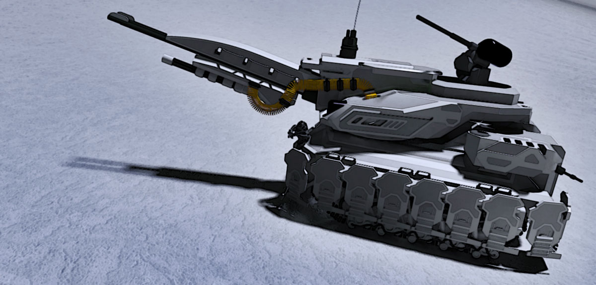 Prometheus Heavy Battle Tank by MrJumpManV4