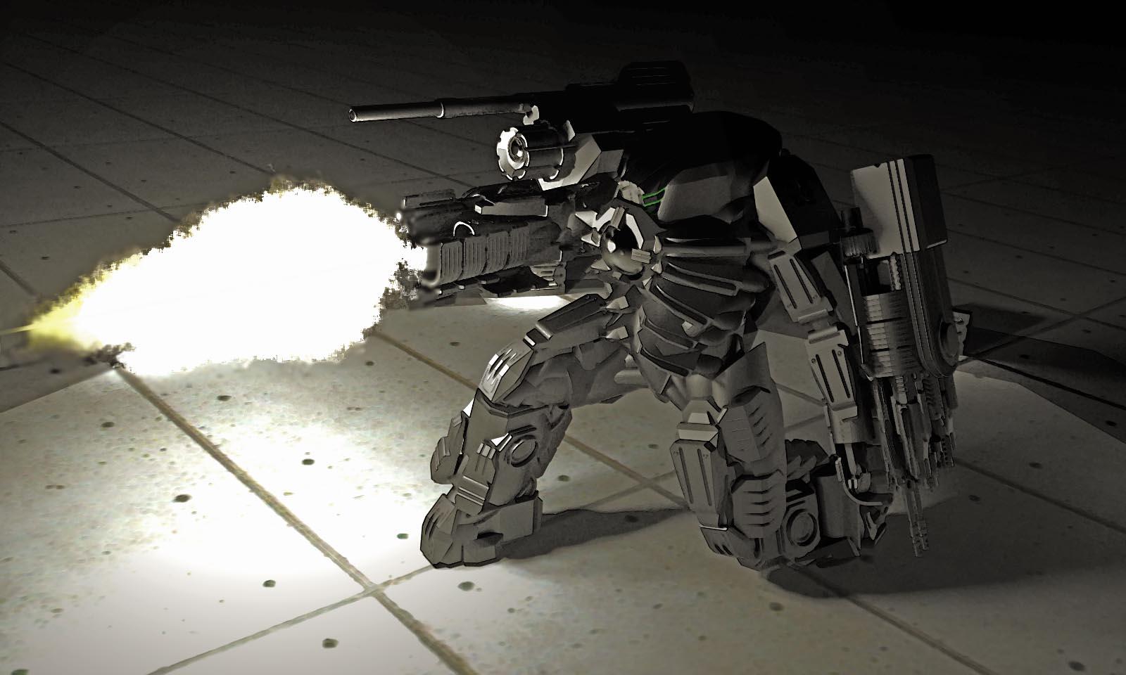 Seraph Mechanized Battler Suit by MrJumpManV4