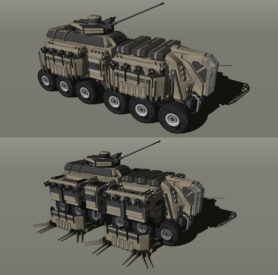 PMC-17 TORTOISE by MrJumpManV4