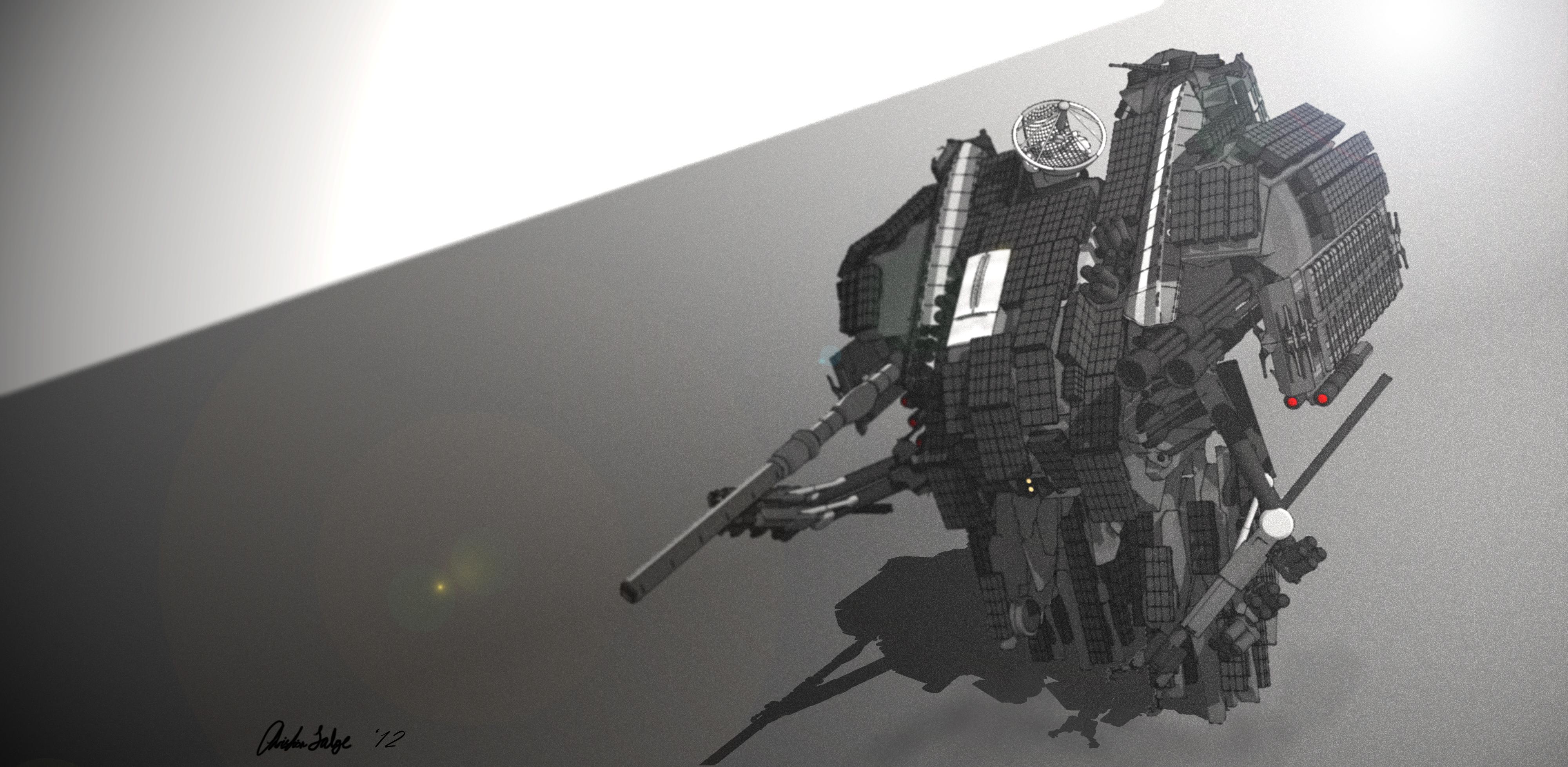 SAU-5 ROOK by MrJumpManV4