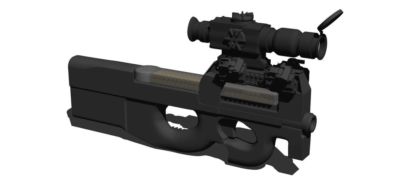 P90-ISD FLIR (Work In Progress) by MrJumpManV4