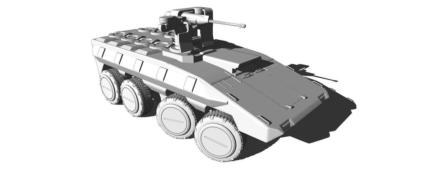 IFV work in progress by MrJumpManV4