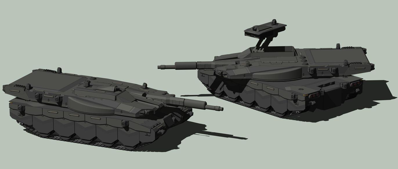 Black Rhino MBT by MrJumpManV4
