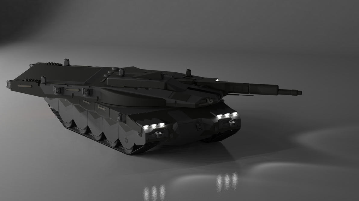 Black Rhino MBT Render by MrJumpManV4