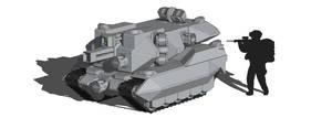 Wolverine Tank WIP