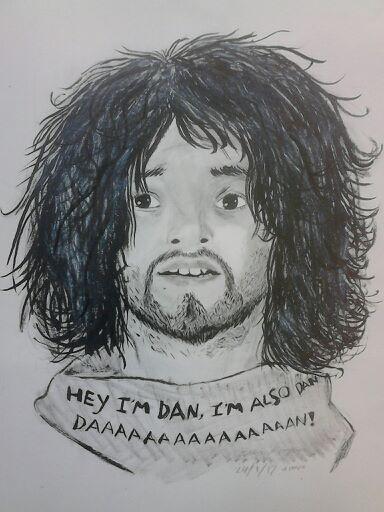 Dan ink (WIP) by Trip-mod