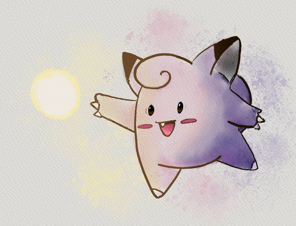 Clefairy by ChaosEmeraldHunter