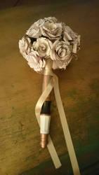 Book Page Bouquet