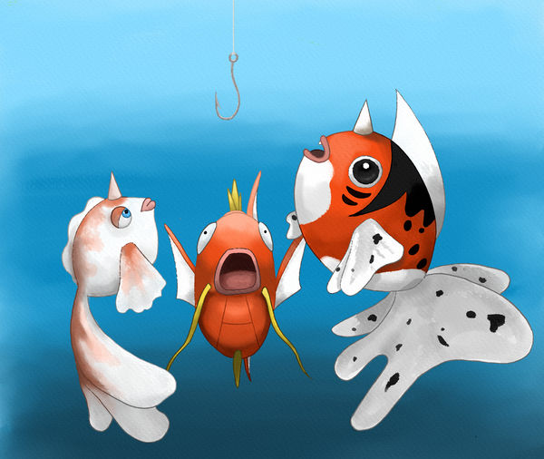Pokefish by ChaosEmeraldHunter
