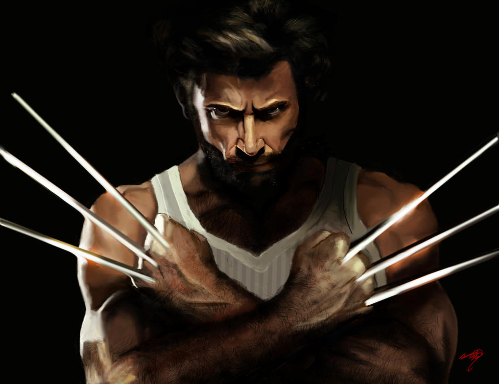 The Wolverine by Glass-Owl