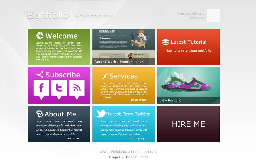 Windows 8 portfolio layout by hedesigns on deviantart for Picture window design layout