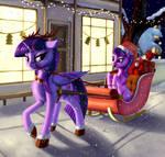 I'm a princess, not a reindeer