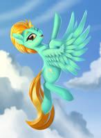 Lightning Dust by Pony-Way